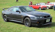 Nissan Skyline R33 GT-R manufactured 1995 first registered in UK April 2006 declared engine capacity 2560cc.JPG