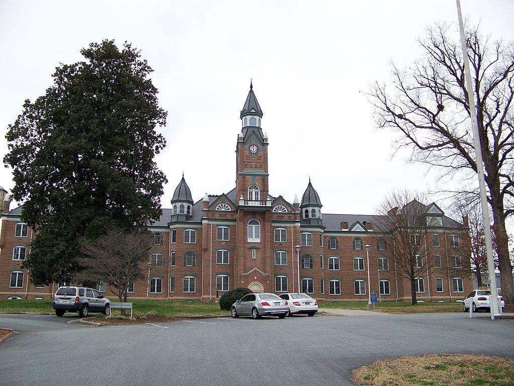 File:North Carolina School For The Deaf - Main Building ...