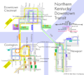 Northern Kentucky Downtown Transit Map.png