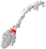 Norway Counties Sør-Trøndelag Position.svg