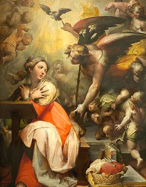 Español: Anunciación, Princeton University Art...