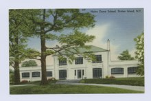 Notre Dame School, Staten Island, N.Y. (entrance to main building) (NYPL b15279351-104966).tiff