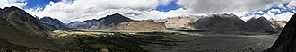 Nubra Valley - Image: Nubra pano