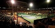 Nungambakkam SDAT Tennis Stadium floodlit match panorama