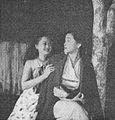 Nurhasanah and Tina Melinda in Sungai Darah, Film Varia 1.11 (November 1954), p8.jpg