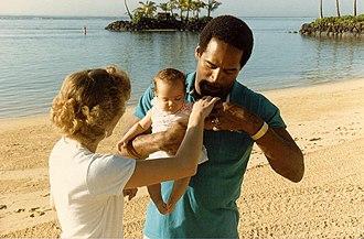 O. J. Simpson murder case - Photo taken February 1986 at the Kahala Hilton Hotel in Honolulu Hawaii
