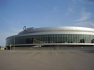 Sport in the Czech Republic - O2 Arena in Prague, was built for the 2004 Men's World Ice Hockey Championships