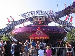 Gravitron at the Orange County Fair (California).