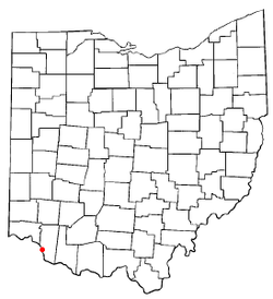 Location of New Richmond, Ohio