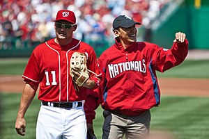 Ryan Zimmerman - Zimmerman (left) and Barack Obama.