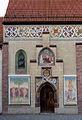 Obermenzing - Schloss Blutenburg - Eingang Kapelle 001.jpg
