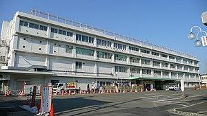 Kōzu Station (Kanagawa) - The station building in March 2008