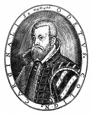 Odet de Coligny - Odet de Coligny as a Protestant general