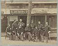 Officers of 1st Rhode Island Volunteers, Camp Sprague, 1861 LCCN2013647762.jpg
