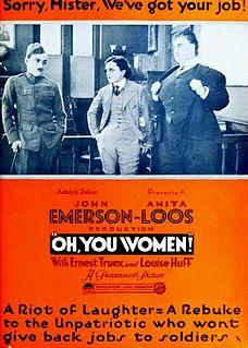 <i>Oh, You Women!</i> 1919 film by John Emerson