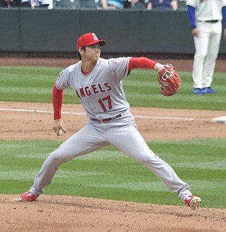 Shohei Ohtani - Ohtani pitching in 2018