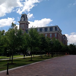 Sam M. Walton College of Business - Image: Old Main, Summer 2015 001
