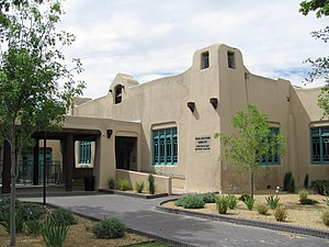 Albuquerque Bernalillo County Library - Old Main Library, now the Special Collections Library