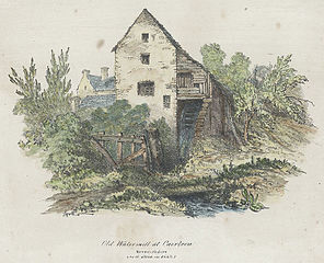 Old Watermill at Caerleon, Monmouthshire. (as it stood in 1842)