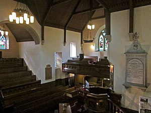 Old West Kirk - The Schaw Aisle, and the Sailor's Loft over the nave