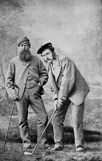 Young Tom Morris - Image: Old and Young Tom Morris