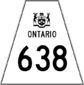 Highway 638 shield