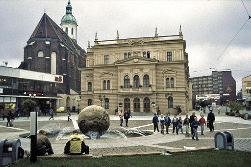 Opava Horní náměstí Theater Mariä Himmelfahrt