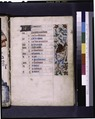 Opening page of calendar, written in French. Border decoration with grotesque (NYPL b12455533-426035).tif