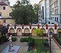 Opole - Uniwersytet Opolski, Collegium Maius - park rzeźb 3.jpg