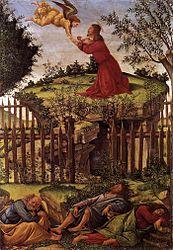 Sandro Botticelli: Oración del Huerto