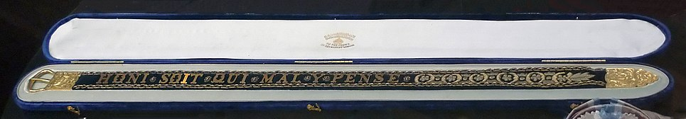 Order of the Garter of Franz Joseph I of Austria