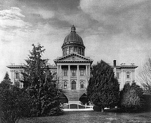 Oregon State Capitol - Capitol in 1909