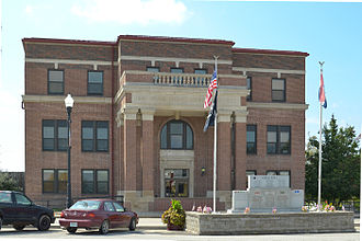 Osage County, Missouri - Image: Osage County MO Courthouse 20140920 1