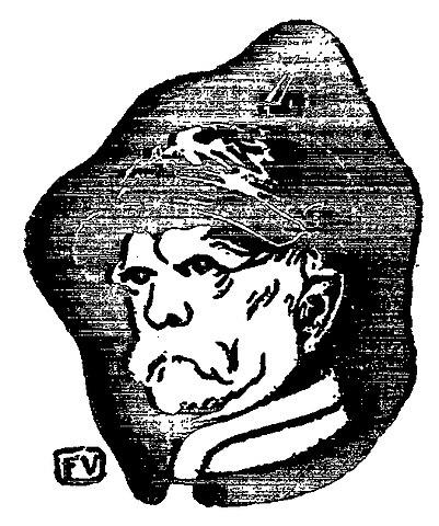 Феликс Валлотон. Портрет Бисмарка, 1895