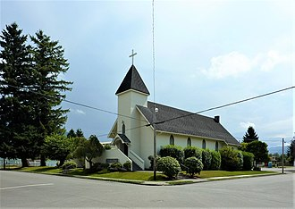 Snoqualmie, Washington - Our Lady of Sorrows Church in Snoqualmie