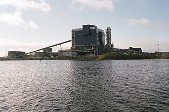 Outokumpu mill in Tornio 20121015