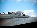 Outside of cockpit of Andrew Mynarski Memorial Lancaster Flickr 4840508191.jpg
