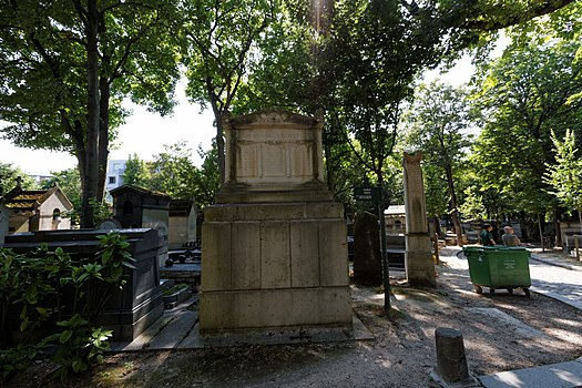Category grave of fran ois douard picot wikimedia commons for Chaise 98 edouard francois