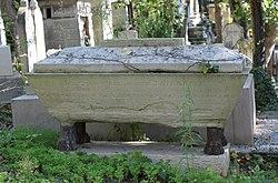Tomb of Elisabeth Thierriat