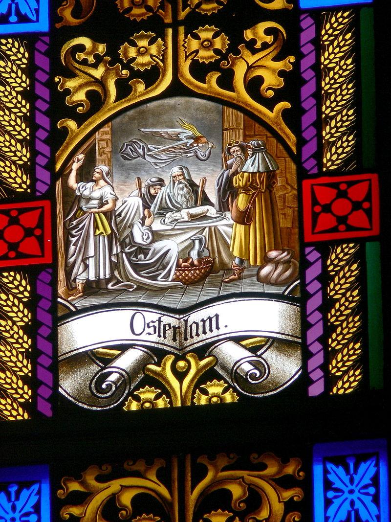 P%C3%B6tting Kirchenfenster 7 Osterlamm.jpg