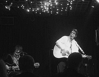 P. F. Sloan - Sloan (right) performing with Duane Jarvis in 2007