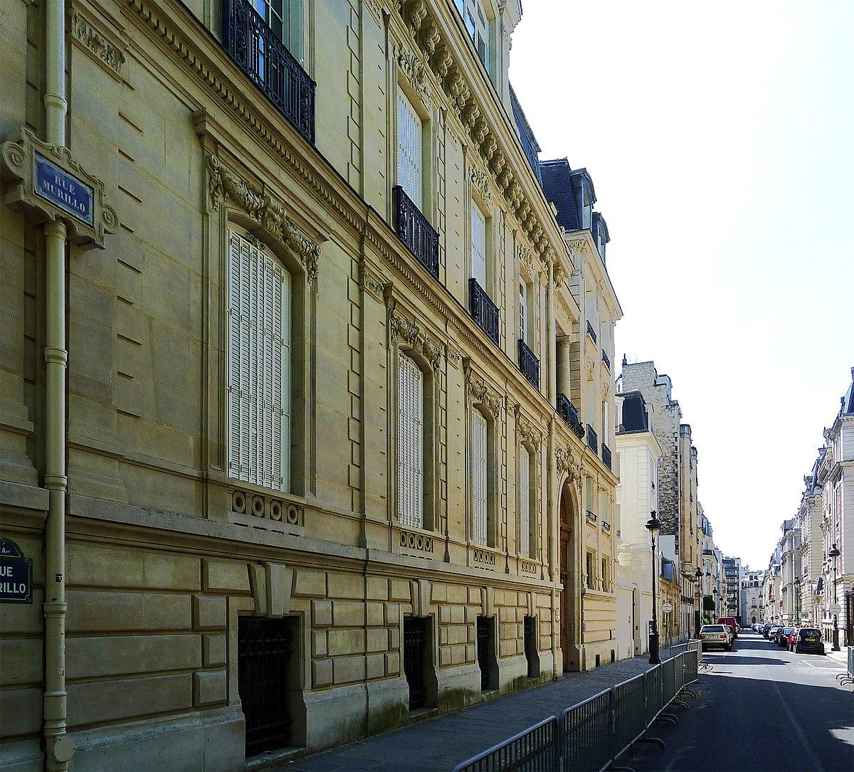 Rue Murillo Wikidata