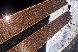 Pannelli solari della Stazione Spaziale Internazionale
