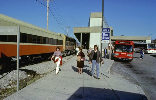 PATrain at McKeesport, March 1985