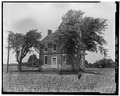 PERSPECTIVE VIEW OF MAIN (SOUTH) ELEVATION - Rose Hill, East New Market, Dorchester County, MD HABS MD,10-NEMA,1-1.tif
