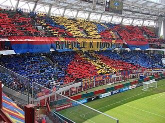 PFC CSKA Moscow - CSKA Moscow fans