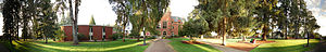 Pacific University - 180° panorama of the campus in Forest Grove