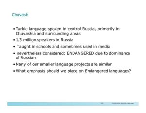 Chuvash Wikipedia - Slide presentation from Jimmy Wales