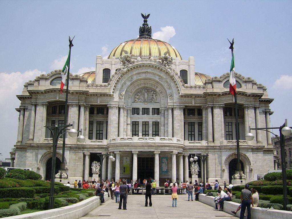 File palacio de las bellas artes mexico city jpg for Palacio de los azulejos mexico