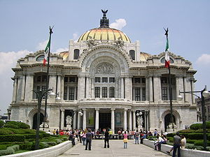 English: Palacio de Bellas Artes (Palace of th...